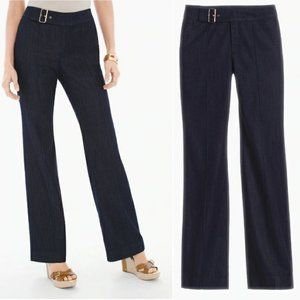 Chico's Platinum Trouser Jeans Sz 1(M, 8) NWT